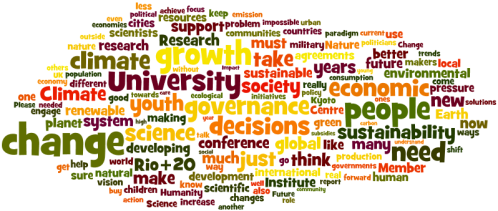 Plenary Sessions Questions - Day 4: Planetary Stewardship