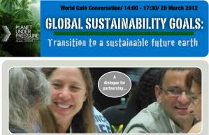 World Café Conversation / 14:00 - 17:30 / 28 March 2012