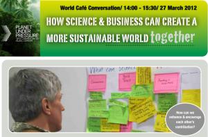 World Café Session/ 14:00 - 15:30/ 27 March 2012